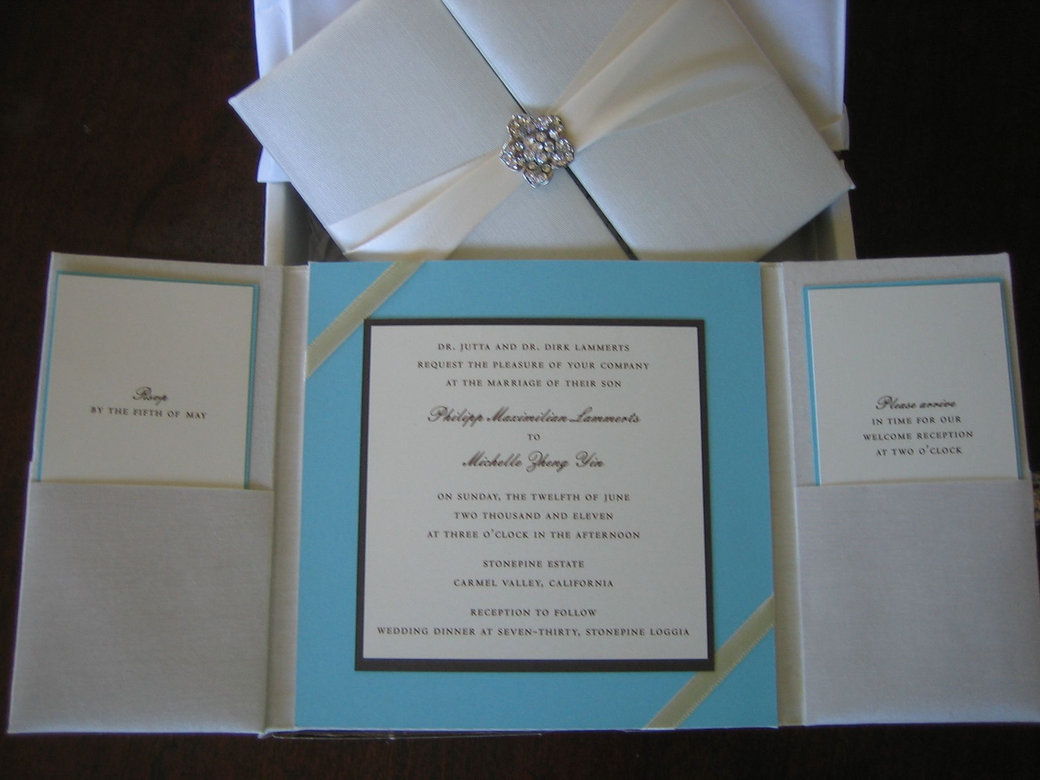 luxurious design by a day like no other tiffany themed invitations