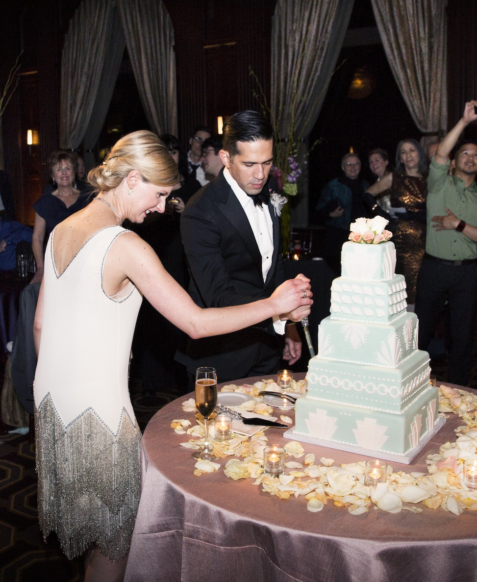 Cutting the Cake - photo by Jessica Stout