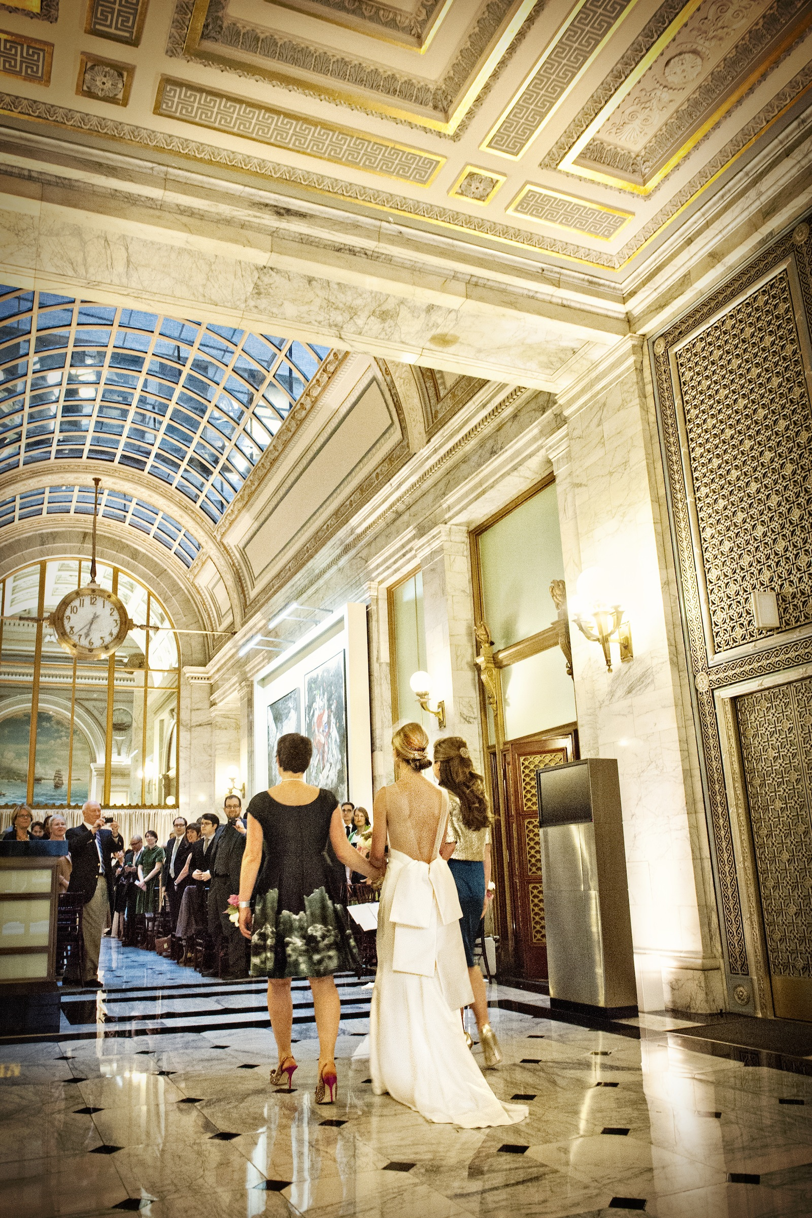 Down the aisle - photo by Jessica Stout