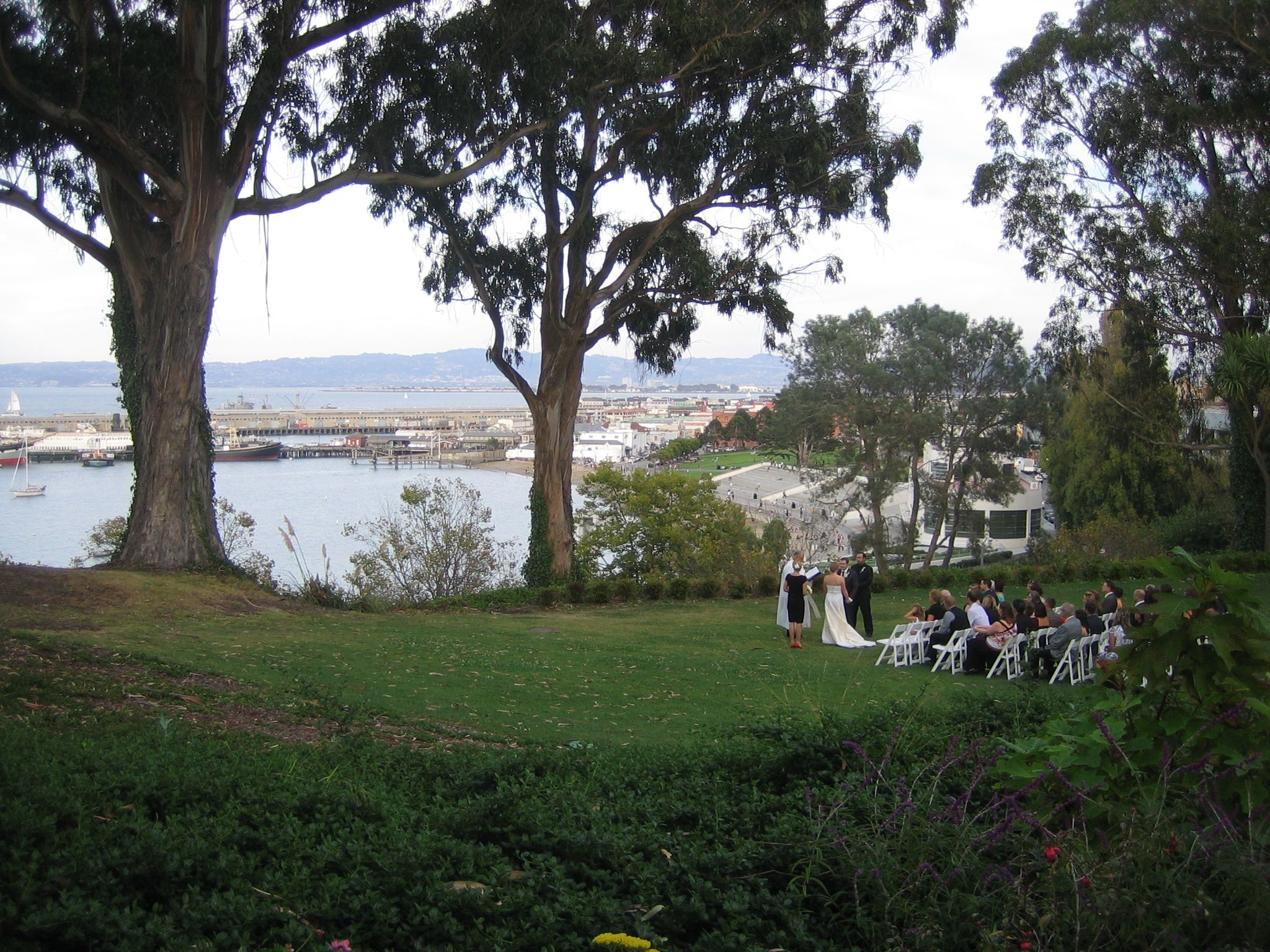 ceremony from distance