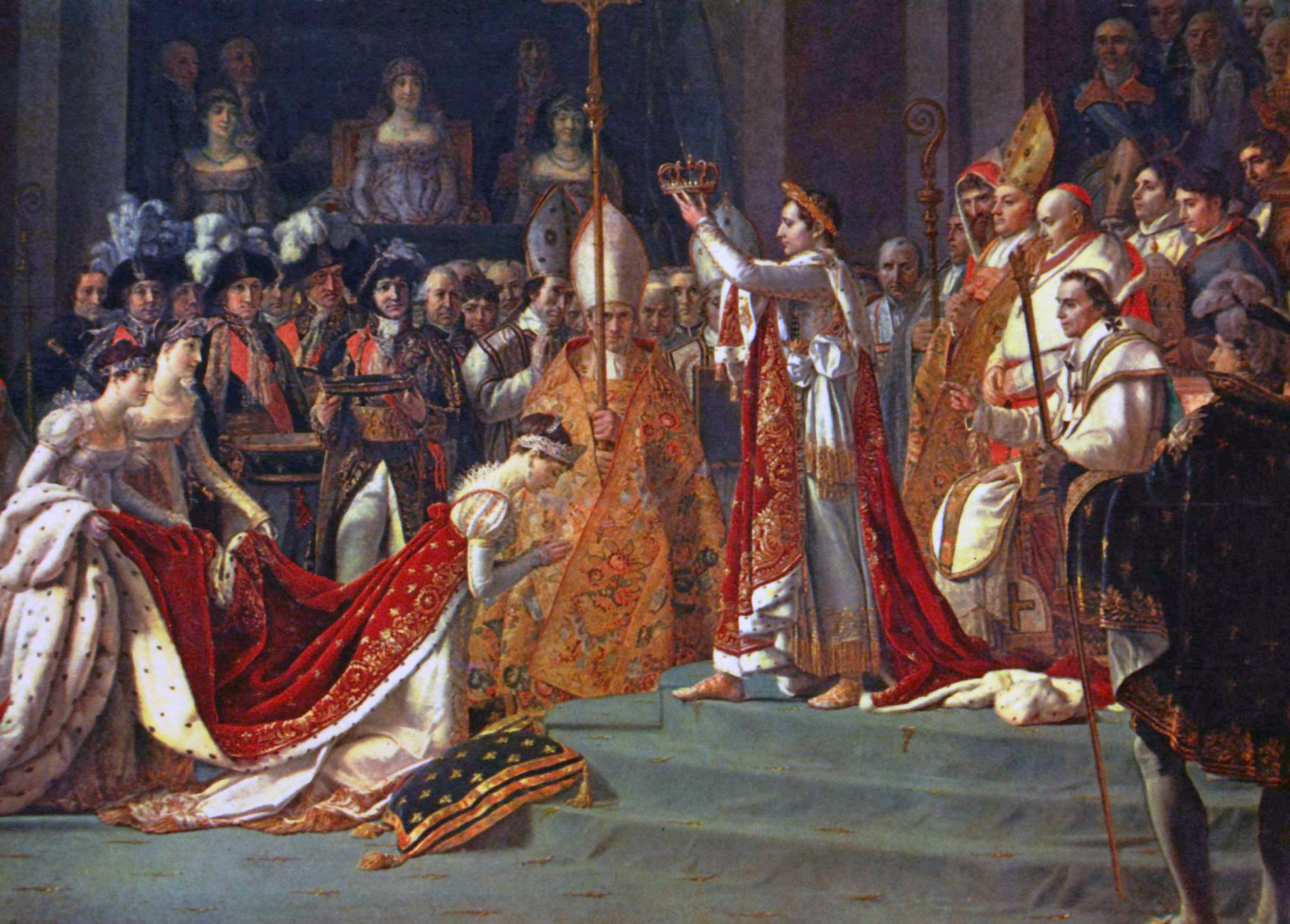 Coronation by Louis David