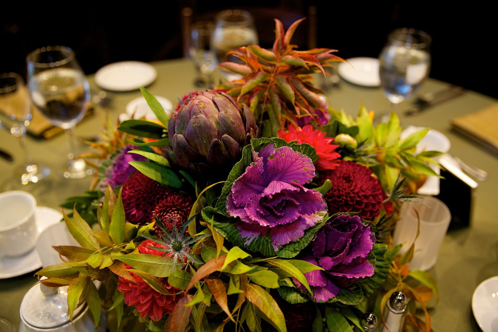 centerpiece closeup