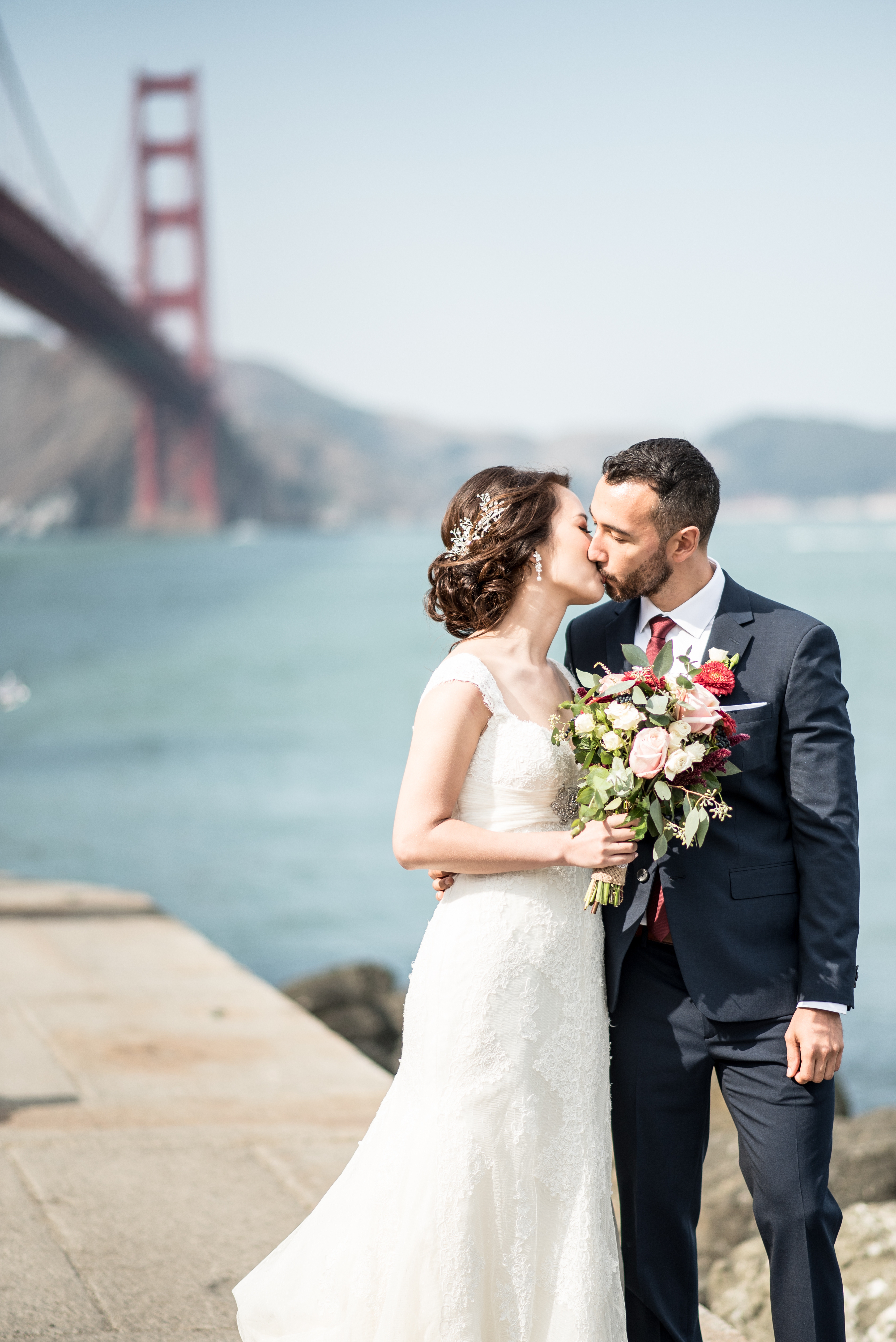 An Homage to San Francisco – Olivia\'s and Jake\'s Nuptials | Wedding Woof